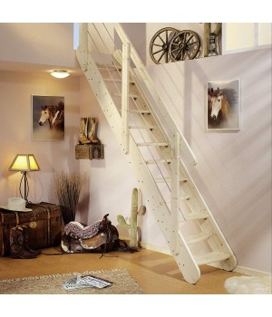 Деревянная лестница DOLLE Bern (бук)