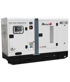 Дизельный генератор 110 кВт Matari MC110