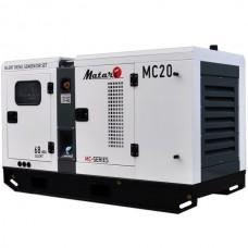 Дизельный генератор 20 кВт Matari MC20