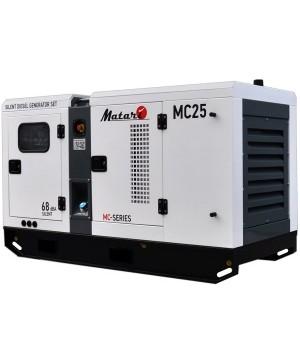 Дизельный генератор 24 кВт Matari MC25
