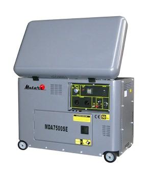 Дизельный генератор 4.5 кВт Matari MDA7500SE