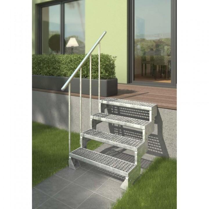 Модульная лестница DOLLE GARDENTOP Сталь/Сталь 80 см