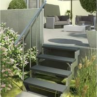 Модульная лестница DOLLE GARDENTOP Сталь/Trimax Серый 100 см