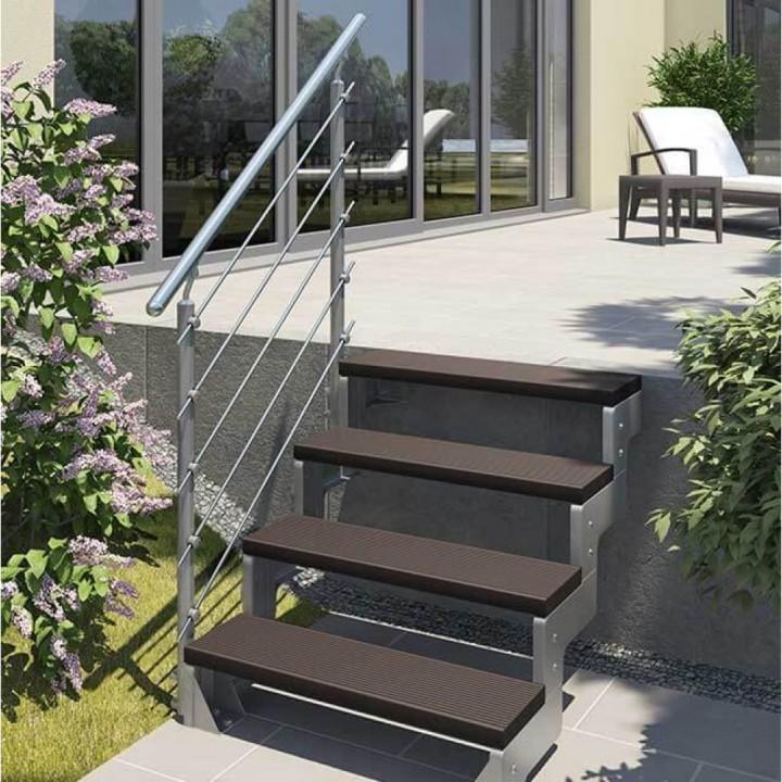 Модульная лестница DOLLE GARDENTOP Сталь/Trimax Бронза 80 см