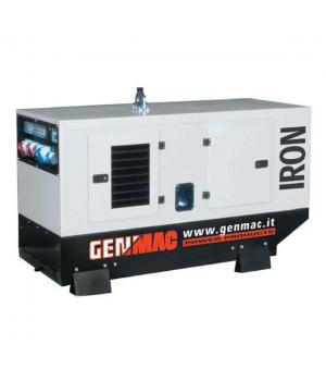 Дизельный генератор 24 кВт GENMAC Iron G30DSM + ATS