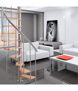 Винтовая лестница DOLLE Calgary Серебро Ø120 см