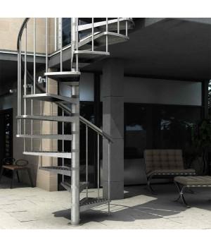 Винтовая лестница DOLLE Gardenspin Сталь Ø125 cм