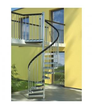 Винтовая лестница DOLLE Gardenspin Trimax Ø125 см